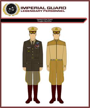 General of the Guard Douglas MacArthur