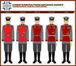 GCS Grand Army Ceremonial Dress Uniforms