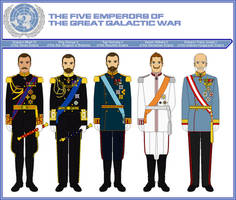 The Five Emperors of the Great Galactic War