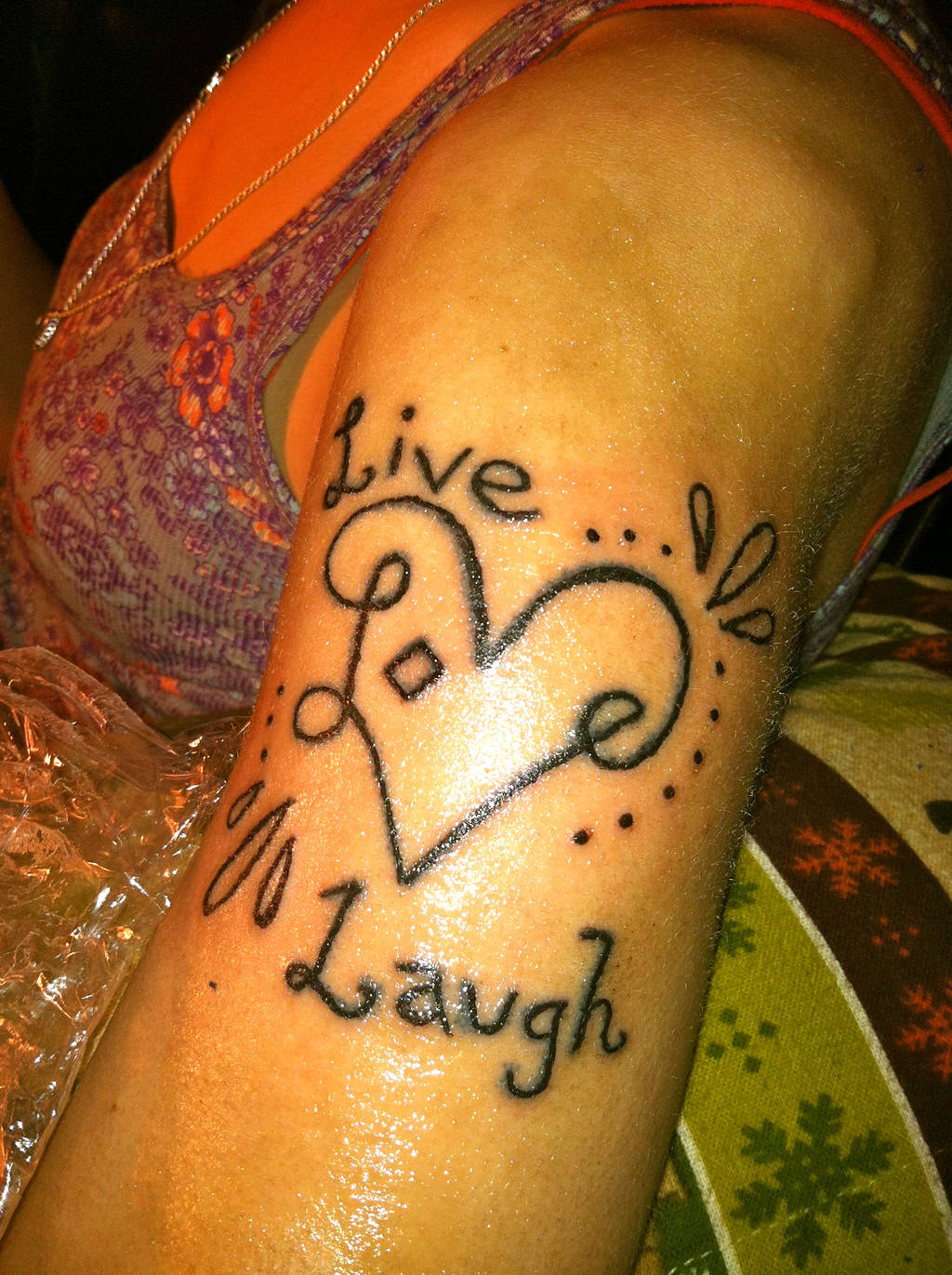 Live love laugh by Cazzombie13