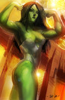 the SHe- Hulk by Mattboy25