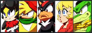 Sonic VS Dudes