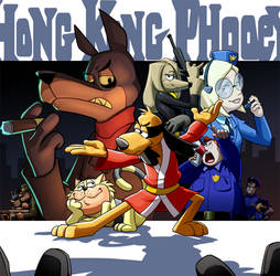 They call him Hong Kong Phooey by JoeAdok