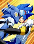 Sonicman vs Sonic Mandroid
