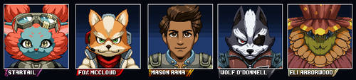 Starlink Portraits by JoeAdok