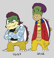 Iggy and Spike Koopa