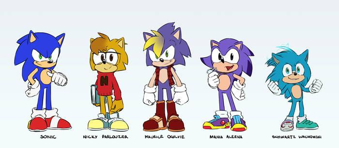 A Buncha Hedgehogs...