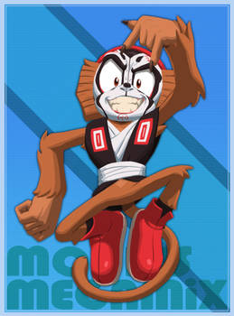 Mobius Megamix CG - Monkey King