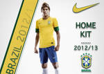 Brazil 2012-13 kit Advert