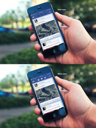 Facebook iOS 7 App - WIP