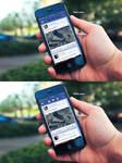 Facebook iOS 7 App - WIP by Dr-Vark