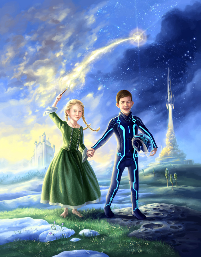 The Princess and The Spaceman by ldiehl