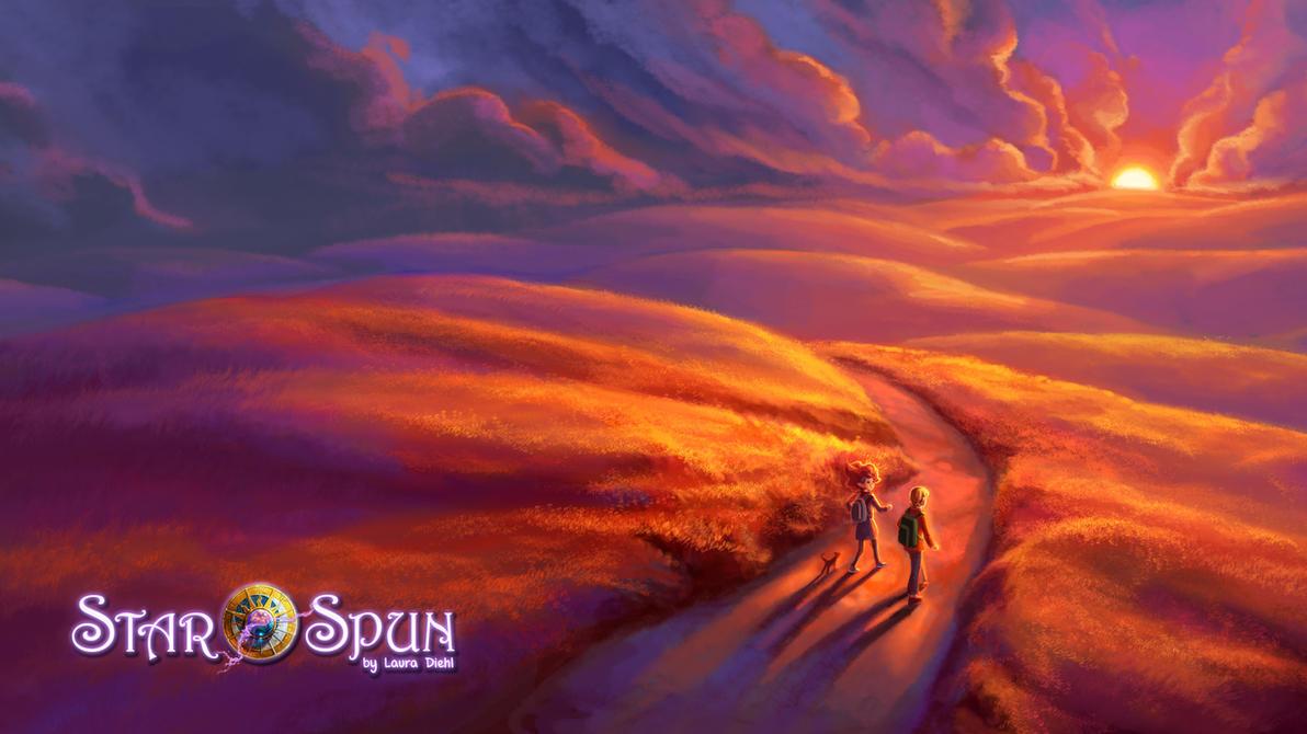StarSpun Sunset by ldiehl