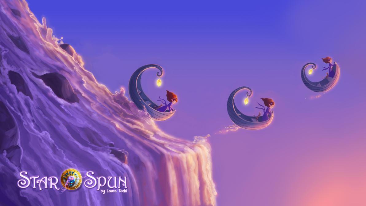 StarSpun - 'Sea of Slumber' Wallpapr#2 by ldiehl