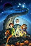 A Wrinkle in Time - Mock Book Cover
