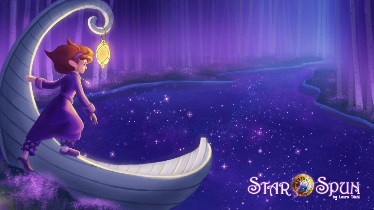 StarSpun - 'Sea of Slumber' Wallpapr#1 by ldiehl