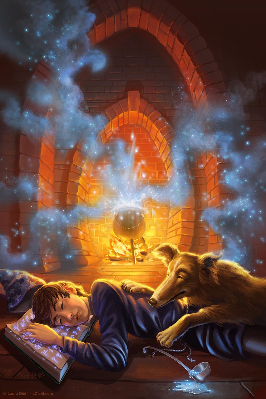 Sorcerer S Apprentice By Ldiehl On Deviantart