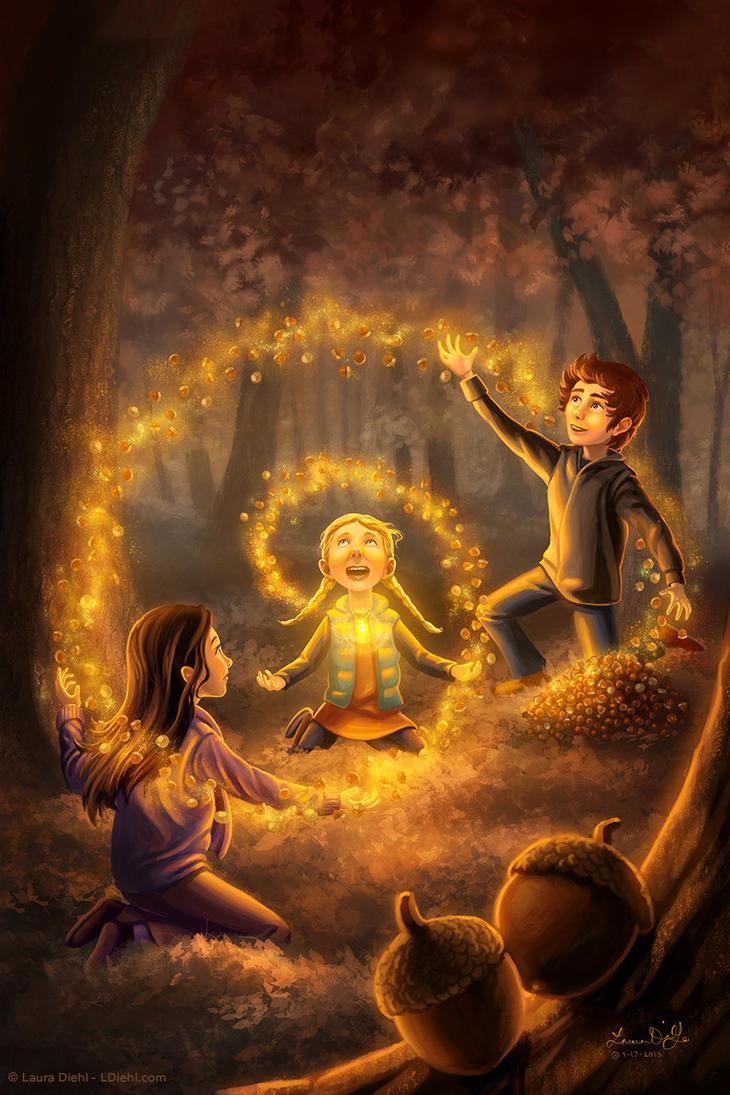 Enchanted Acorns by ldiehl