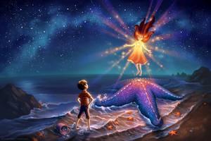 Starfish Shore by ldiehl