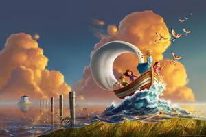 Prairie Sea by ldiehl