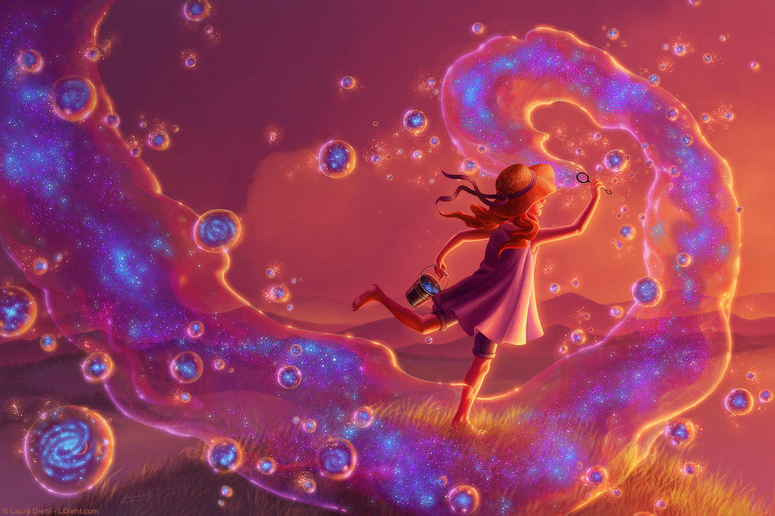 Bubble Galaxies 2/3 - Creation by ldiehl
