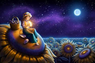Sunflower Wish by ldiehl