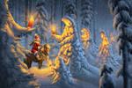 Winter's Procession