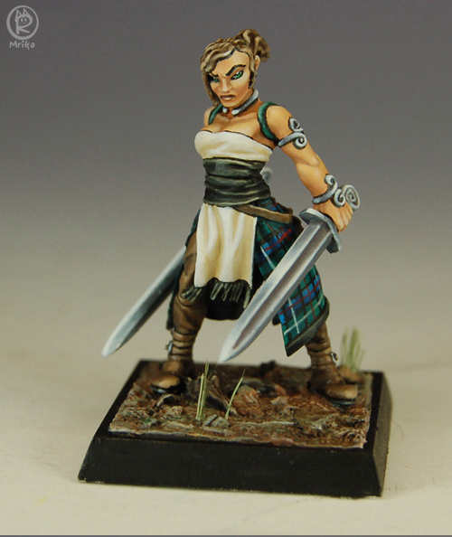 The Barbarian painted by Marike Reimer by newboldworld