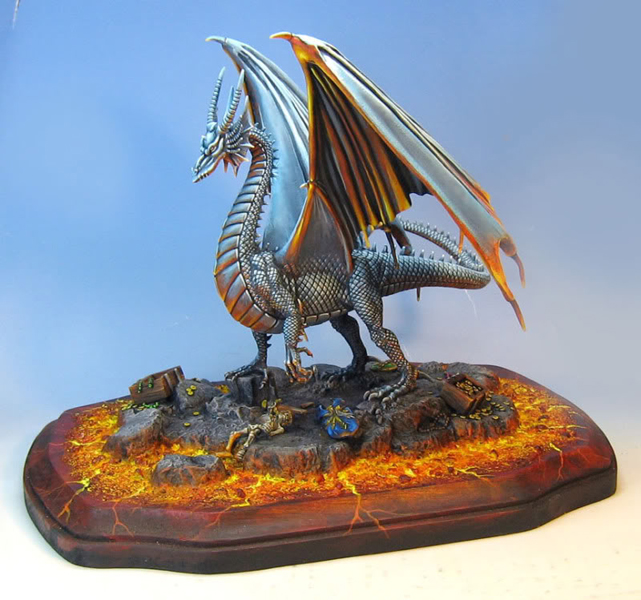 Dragon by James Wappel by newboldworld
