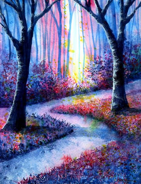 Secret Path by Ann Marie Bone by newboldworld