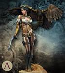 Jessica Thunderhawk by Rodrigo Cipres by newboldworld