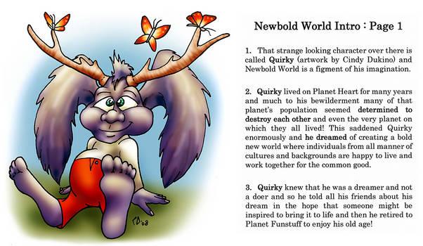 Newbold World Intro : Page 1