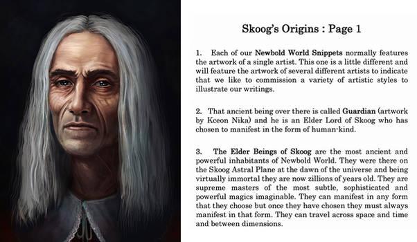 Skoog's Origins : Page 1