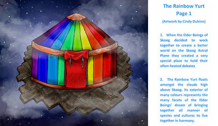The Rainbow Yurt : Page 1