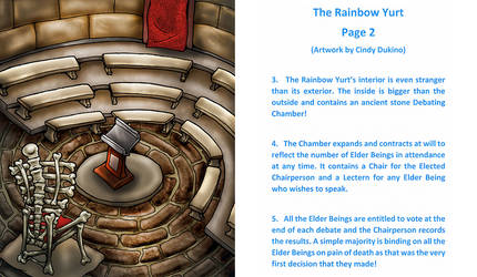 The Rainbow Yurt : Page 2