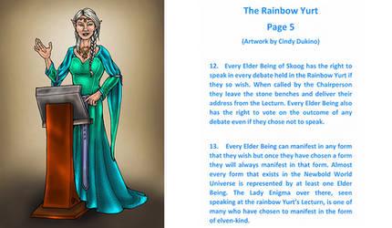 The Rainbow Yurt : Page 5