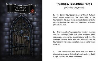 Darkov Foundation : Page 1