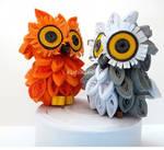 3D Quilling:Little Owls
