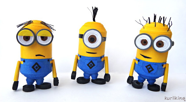 Despicable Me Minions by Kurlikins