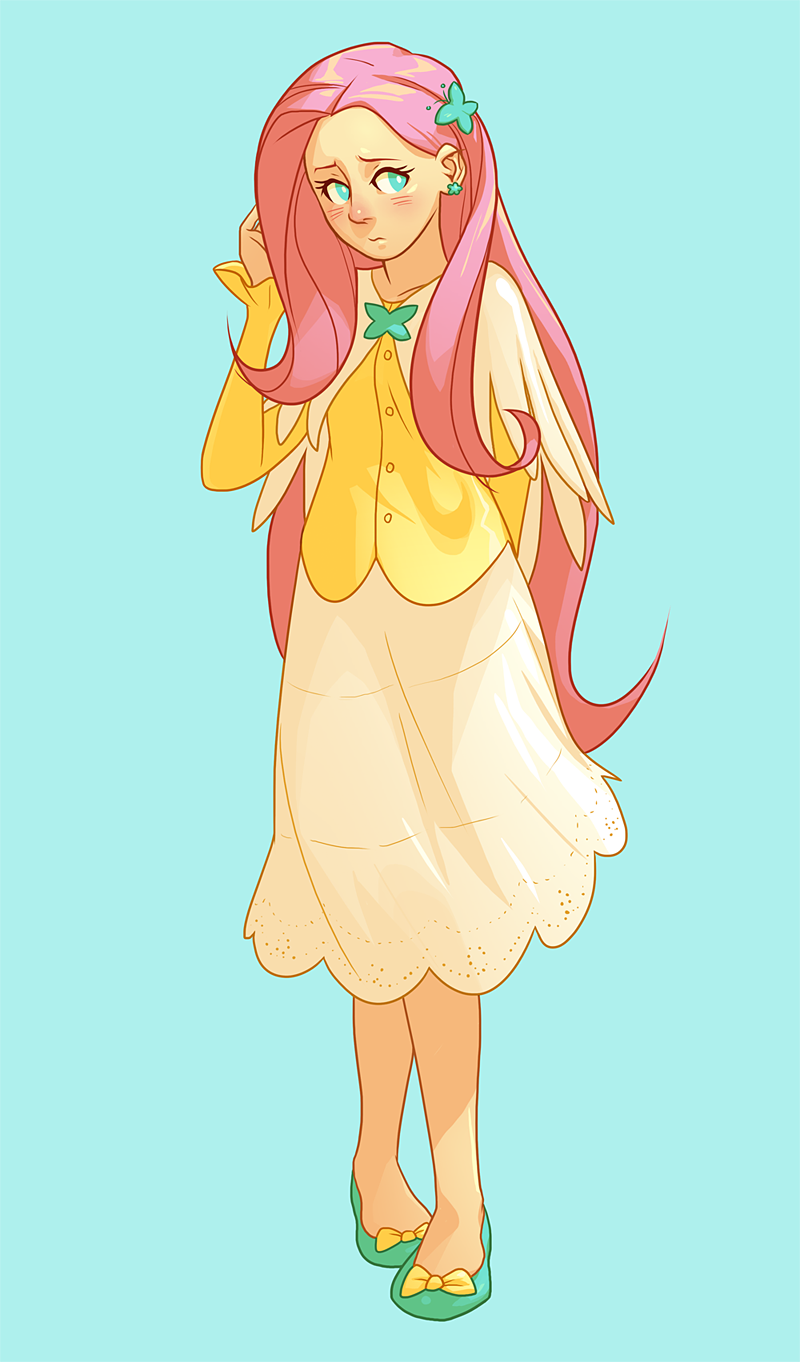 Fluttershy by pockyy