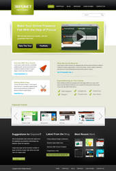 Exponet Website Template by stylus1274