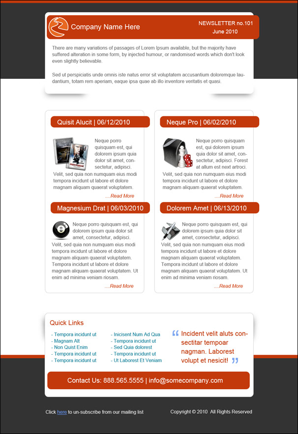 Email Newsletter Template by stylus1274 on DeviantArt HL7h8Kzf