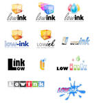 Low-Ink Logo Examples