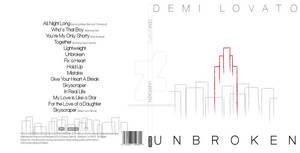 Unbroken- Demi Lovato album cover