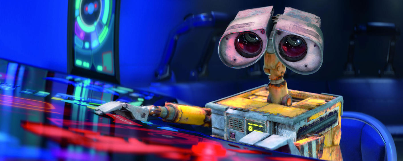 Wall-e Desktop by Starkadder
