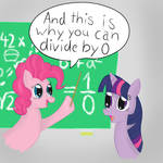 Pinkie can divide by 0