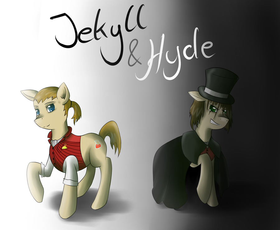 explore doubleness in jekyll and hyde