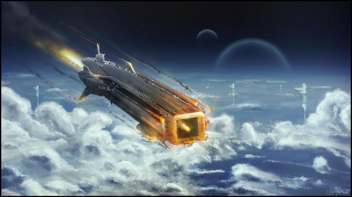 a spaceship landing on jupiter - photo #3