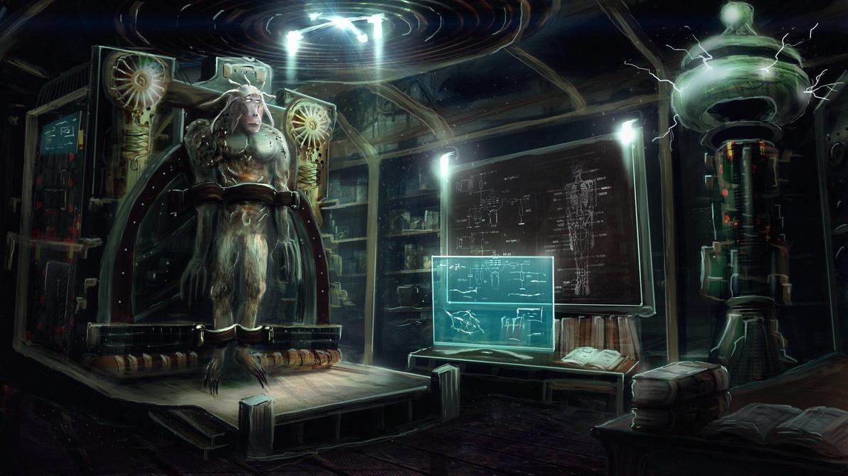 Anatols laboratory by gugo78