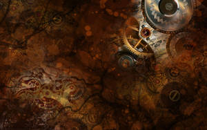 Steampunk Wallpaper by SpaceTurtleStudios